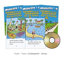 Danny and the Dinosaur Go to Camp CD Read-Along