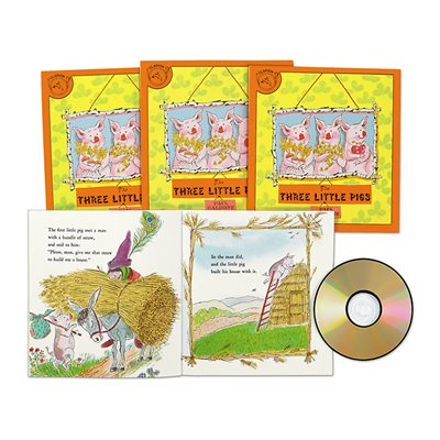 The Three Little Pigs CD Read-Along