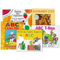 Alphabet Theme Book Library