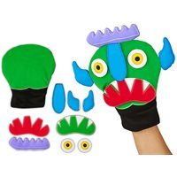 Go Away, Big Green Monster! Storytelling Puppet Kit