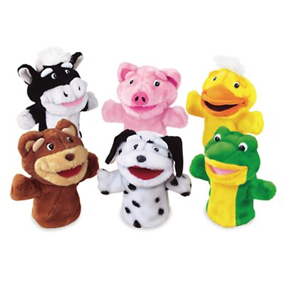 Big Mouth Animals Puppet Set