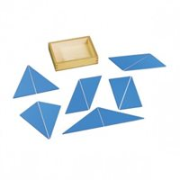 D- Constructive Blue Trianges (Box with Lid) No control of error