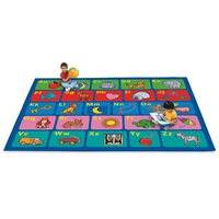 Alphabet Activity Carpet - 9' X 12'