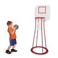 Beginner's Basketball Portable Hoop With Board