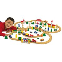 Classic Hardwood Train Set