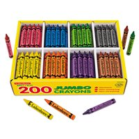Best-Buy Jumbo Crayons - 8 Colour Box