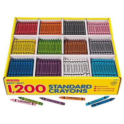 Best-Buy Standard Crayons-12 Colour Box