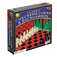 Chess, Checkers & Backgammon Game