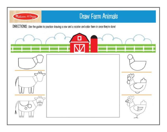 Draw-Farm-Animals-Thumbnail
