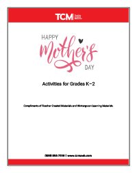 Mothers Day Activity Pages K-2_WG-Thumbnails